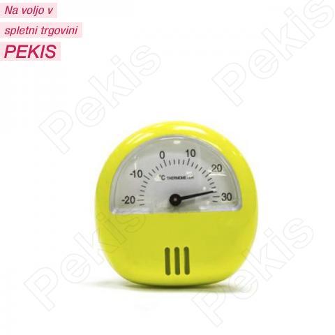 Termometer za hladilnik, zamrzovalnik, zeleno rumen