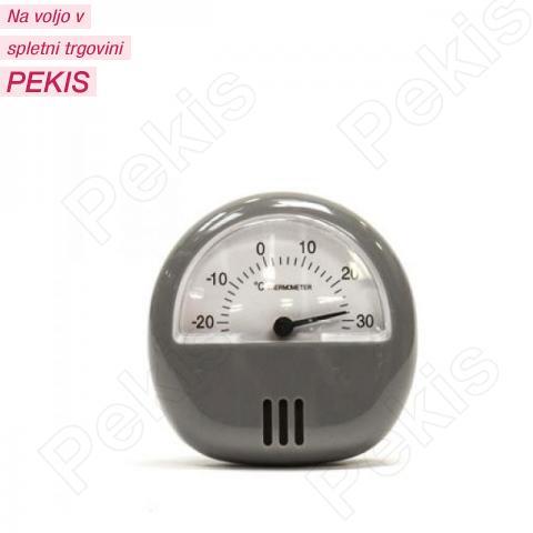 Termometer za hladilnik, zamrzovalnik, siv