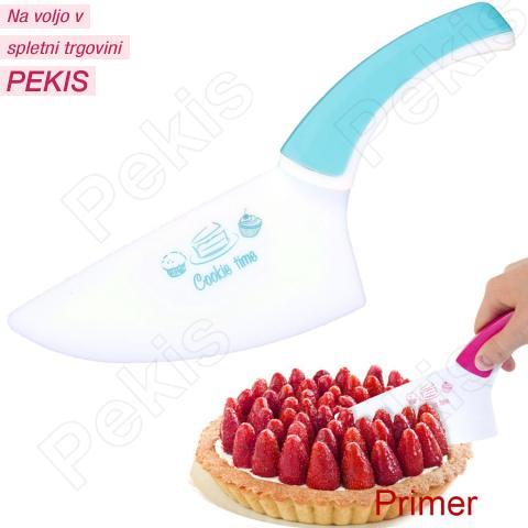 Nož za rezanje brez prask, moder