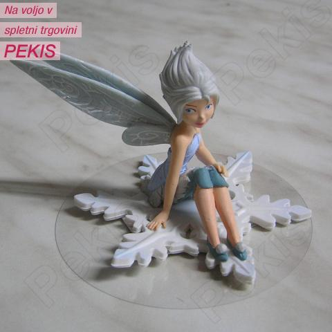 Figurica Zvončica in skrivnost vilinskih kril - Vila Zimčica