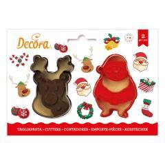 Modelčka Božiček in Jelenček, 2 delni