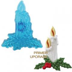 JEM modelček božična sveča 6,4 x 5,3 cm