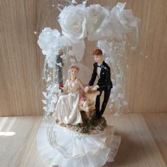 Poročna figurica - Poročni par