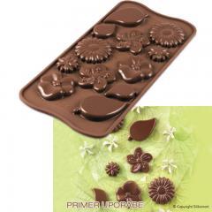 Silikomart silikonski modelček Čokoladni vrt
