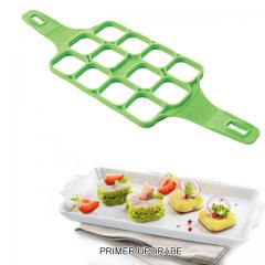 Silikonski pekač za mini palačinke, biskvitke, KVADRATKI