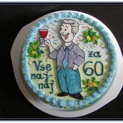 Torta za 60 let