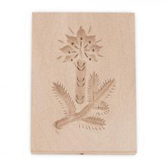 Modelček Springerle, Veja s Svečo 8 x 5,5 cm