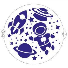 Šablona vesolje 25 cm