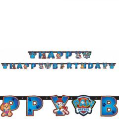 Tačke na Patrulji (Happy Birthday) zastavice za zabavo