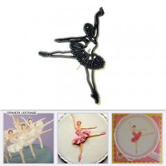 Patchwork modelček balerina