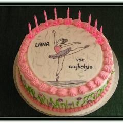Torta BALETKA