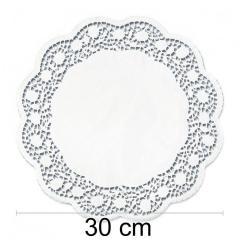 Prtiček s čipko 30 cm