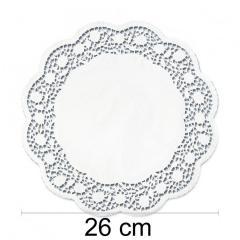 Prtiček s čipko 26 cm