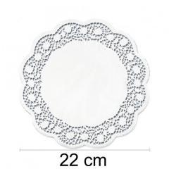 Prtiček s čipko 22 cm