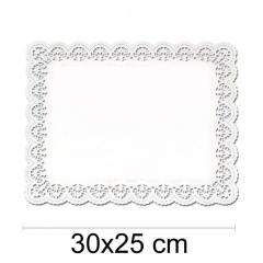 Prtiček s čipko 30x25 cm