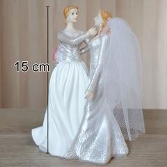 ŽENSKI poročni par