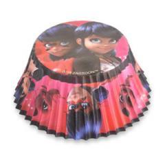 Papirčki za muffine Miraculous, Ladybug, Cat Noir