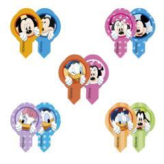 Wafel mini ploščice Miki miška in prijatelji - 5 cm, 10 kom