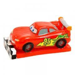 3D Svečka za torto Cars, Strela Mcqueen
