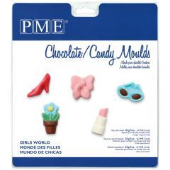PME modelček za čokoladke dekliški svet