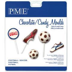 PME modelček za lizike ali čokoladke, nogomet