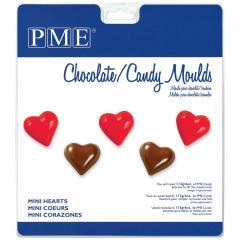 PME modelček za čokoladke, srčki