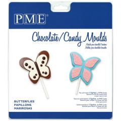 PME modelček za lizike ali čokoladke, metuljčki