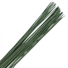 Žica za rožice in figurice (20 gauge= 0.9mm) Temno zelena