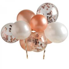 Rose Gold (Roza Zlati) venec balonov