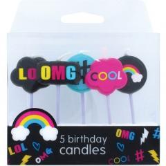 Svečke #LOL, 5 svečk