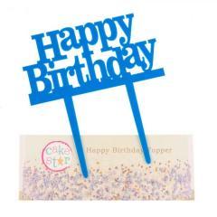 Topper za torto Happy Birthday MODER