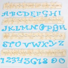 Črke in številke - Funky Velike 2 cm