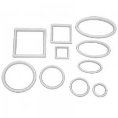 Modelčki geometrijskih oblik (krog, kvadrat, oval) 10 delni