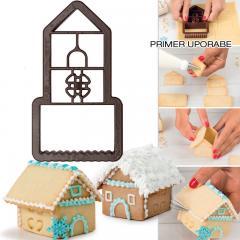 Modelček 3D medena hiška