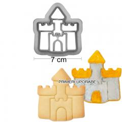 Modelček grad 6 cm, plastika