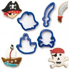 Modelčki Pirati-Gusarji - 4 delni