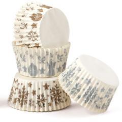 Papirčki za muffine ZIMA, 75 kom