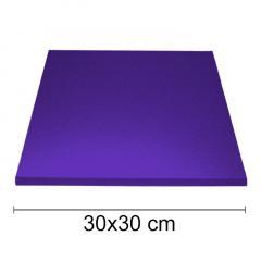 Podstavek 30x30cm, debelina 10mm – Vijoličen