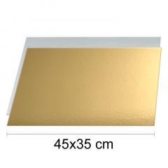 Zlat-srebrn podstavek 45x35cm, 1,5mm