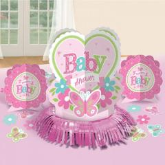 Namizna dekoracija dobrodošla novorojenčica