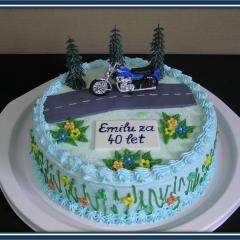 Torta za 40 let
