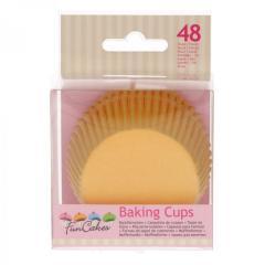 Papirčki za muffine RUMENI, 48 kom, FunCakes
