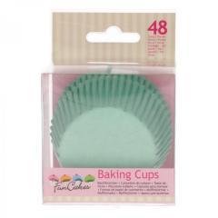 Papirčki za muffine MINT ZELENI, 48 kom, FunCakes