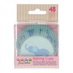 Papirčki za muffine BABY FANTEK, 48 kom, FunCakes