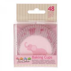 Papirčki za muffine BABY DEKLICA, 48 kom, FunCakes