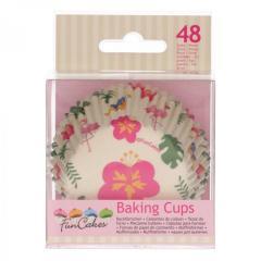 Papirčki za muffine TROPIKA, 48 kom, FunCakes