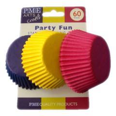 PME papirčki za muffine PARTY, 60 kom