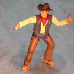 Figurica za torto - KAVBOJC s pištolo