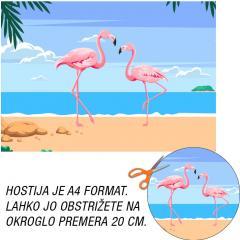 Hostija Flamingo A4
