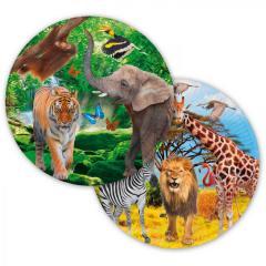 Papirnati krožniki Safari 23 cm
